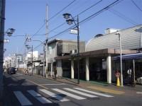 一橋学園駅南口。
